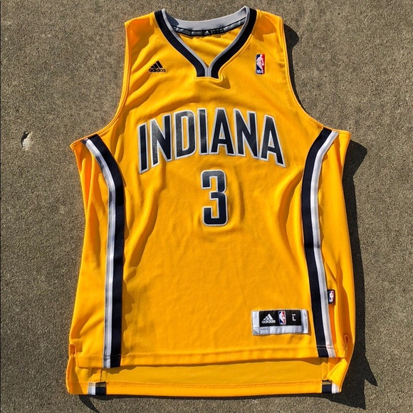 buy popular a9f9b 450a3 Indiana Pacers George Hill #3 NBA Jersey